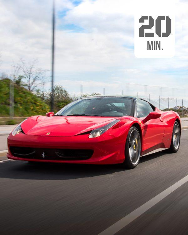 Ferrari Selber fahren 20 min