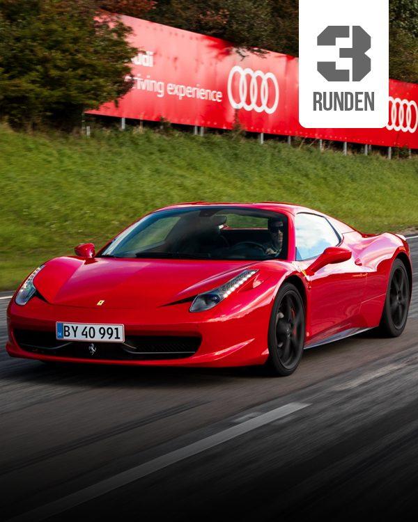 Ferrari Selber fahren 3 runden