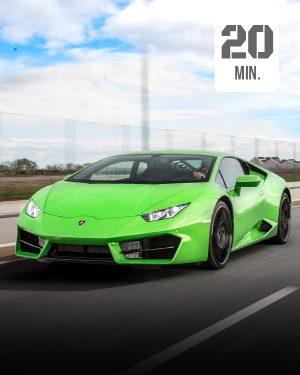 Lamborghini Selber fahren 20 min