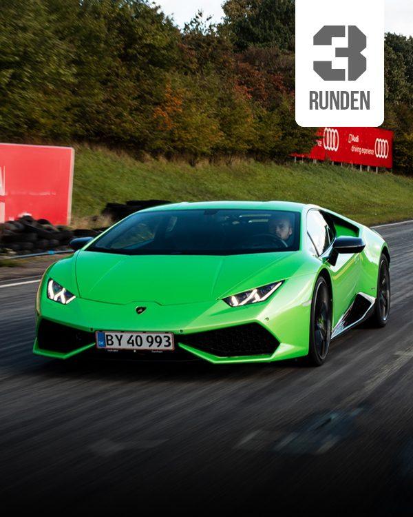 Lamborghini Selber fahren 3 runden