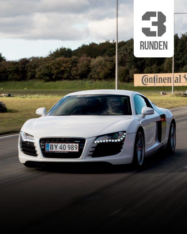 Audi R8 Selber fahren 3 runden