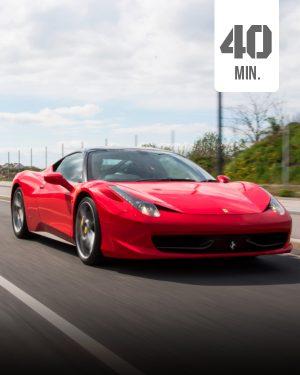 Ferrari 40 min Selber fahren