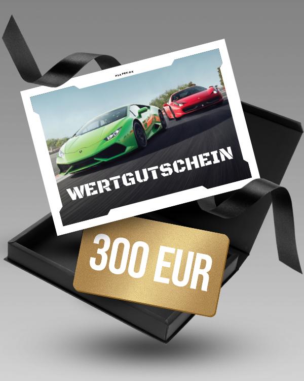 Supercar selber fahren | Wertgutschein 300 €